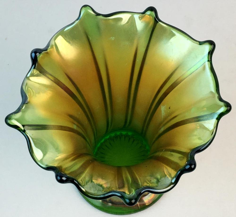Antique c. 1910 Northwood Carnival Glass