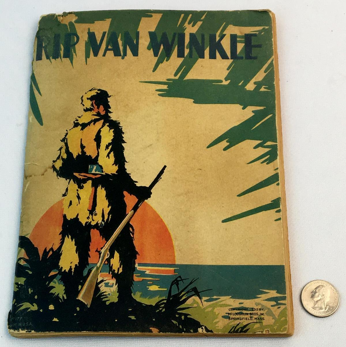 1932 Rip Van Winkle by Washington Irving ILLUSTRATED