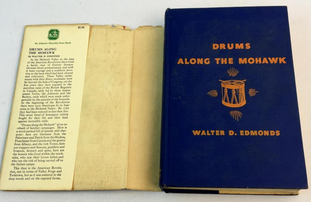 1936 Drums Along The Mohawk By Walter D. Edmonds w/ Dust Jacket FIRST EDITION