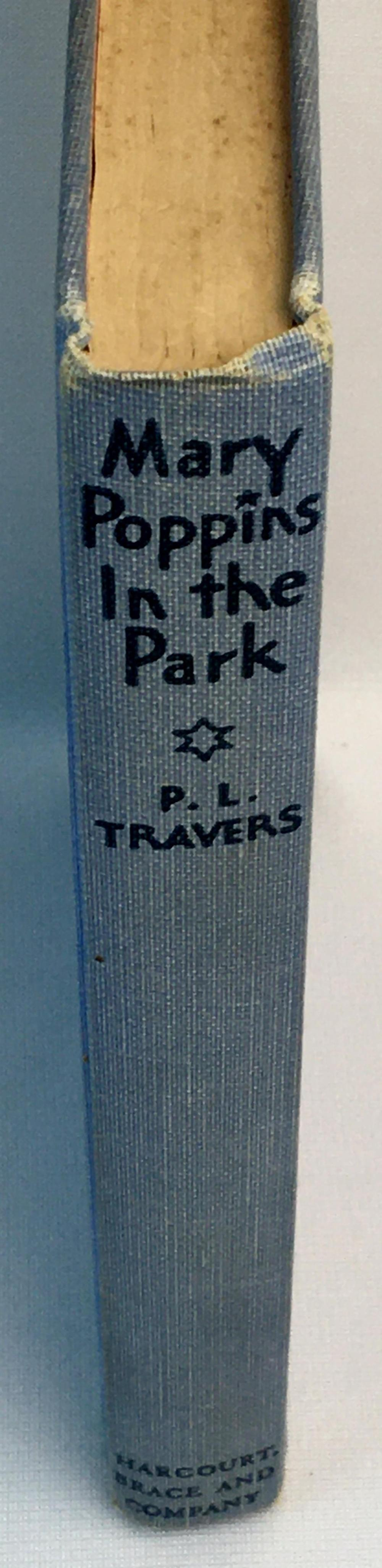 1952 Mary Poppins In The Park by P.L.Cravers Illustrated FIRST AMERICAN EDITION