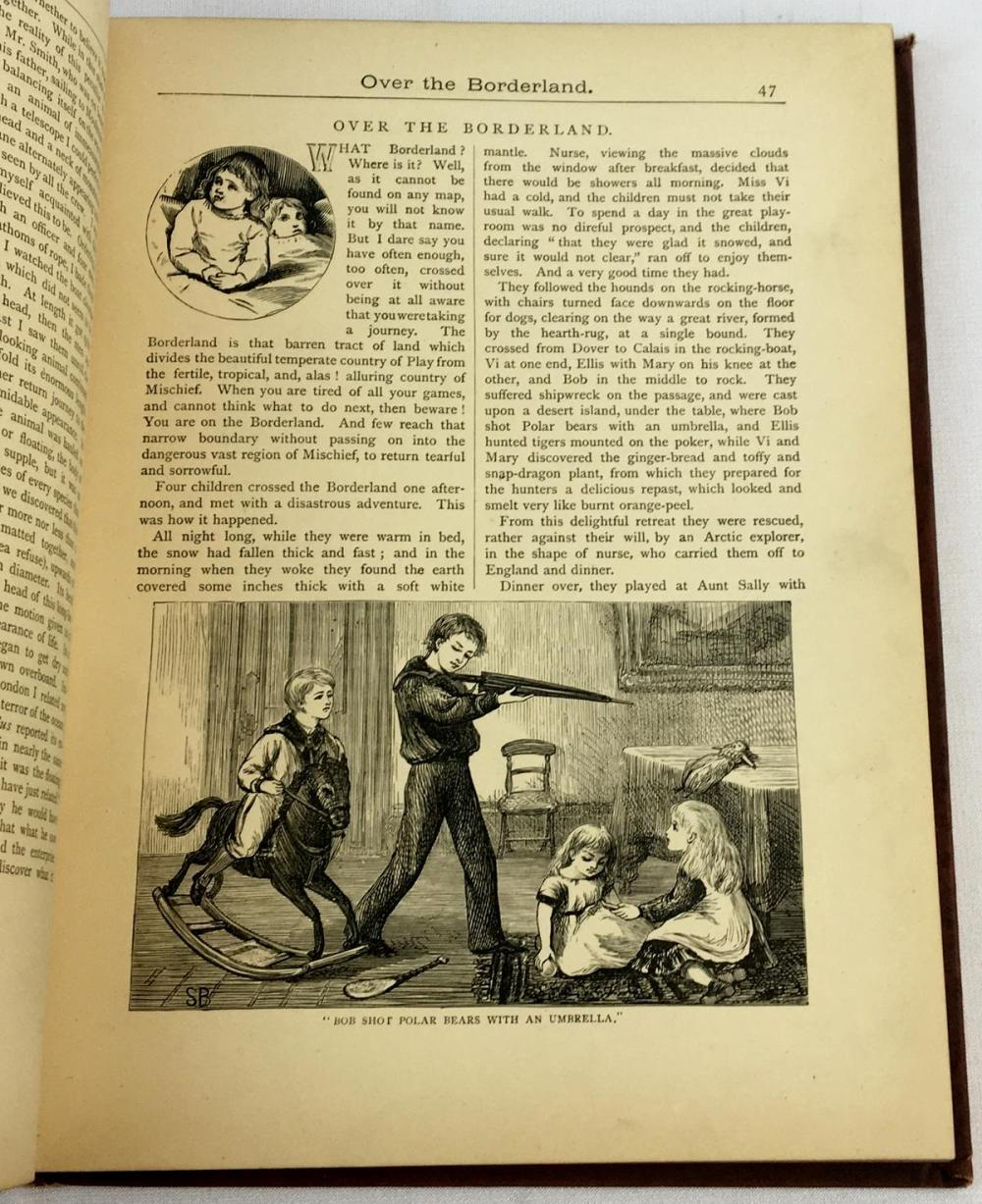 The Little Folks Holiday Album c. 1880 ILLUSTRATED