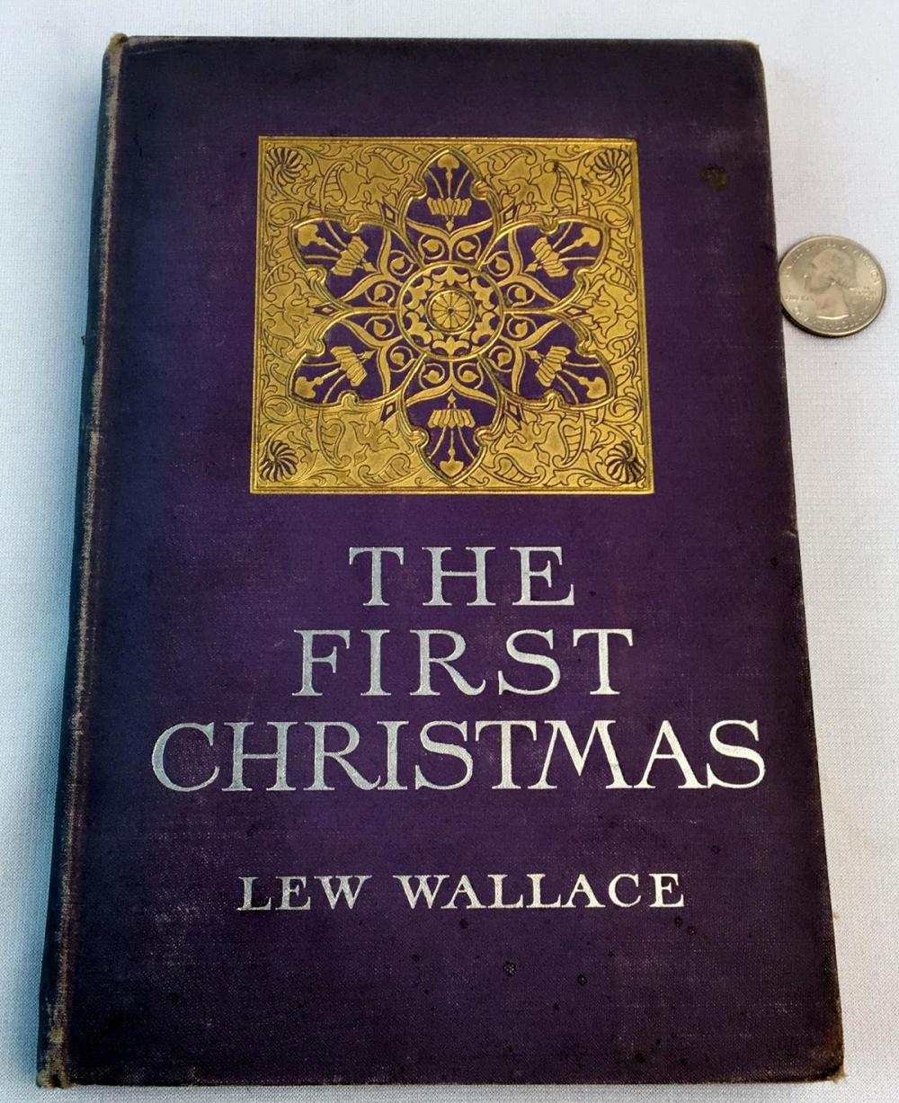 1902 The First Christmas by Lew Wallace ILLUSTRATED
