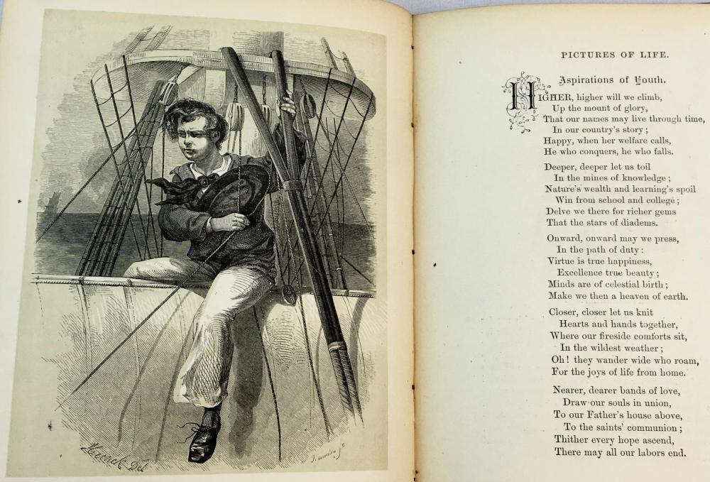 Pictures of Life With Pen and Pencil ILLUSTRATED c. 1880