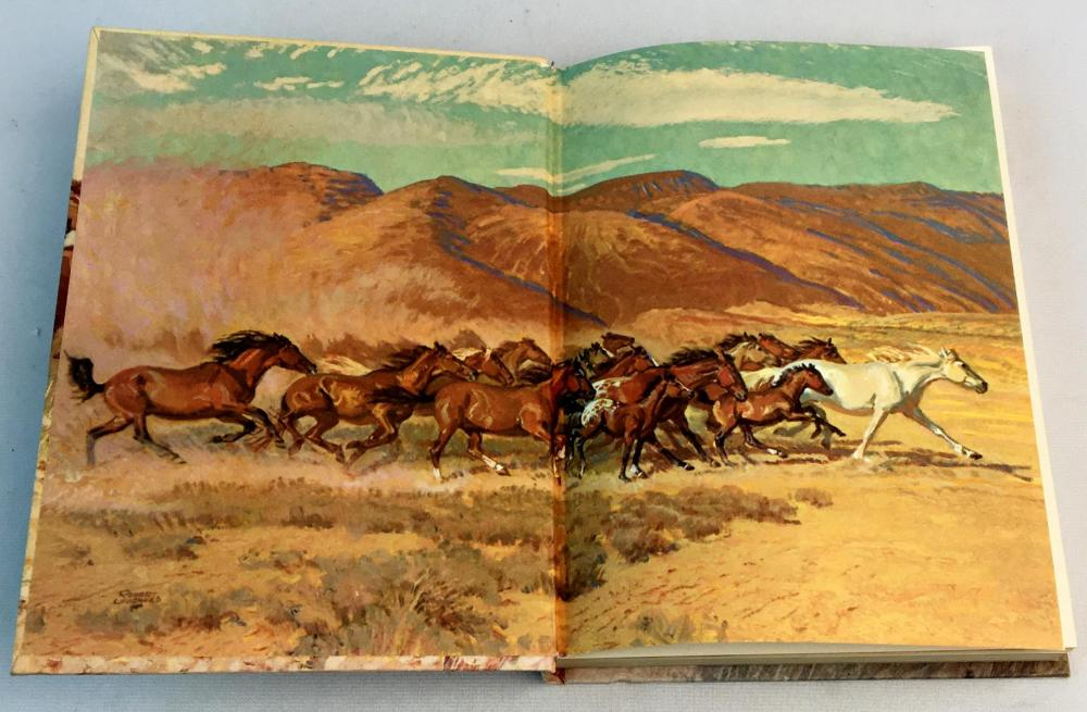 1966 Mustang: Wild Spirit of The West by Marguerite Henry Illustrated FIRST EDITION