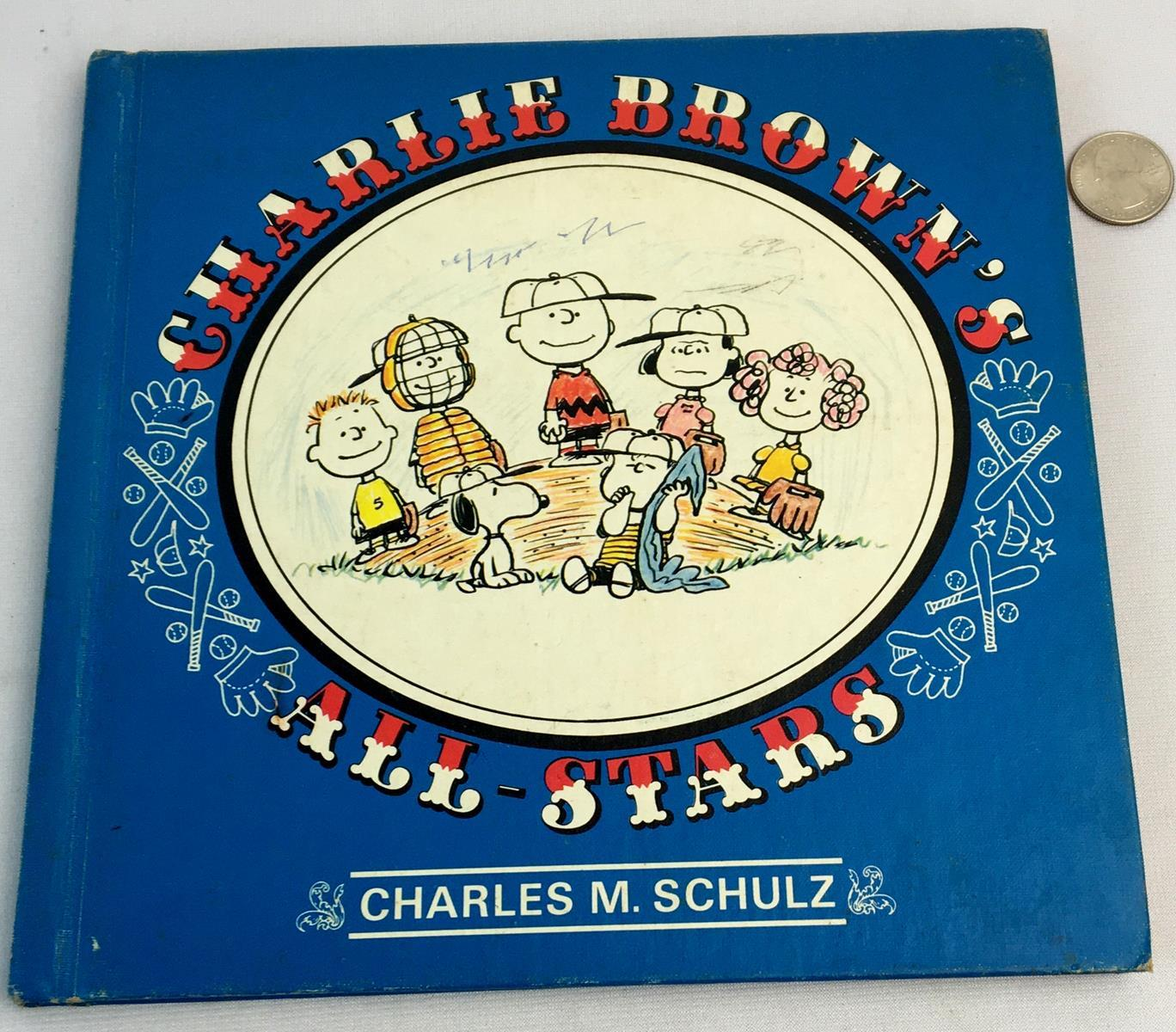 1966 Charlie Brown's All-Stars by Charles M. Schulz Illustrated FIRST EDITION