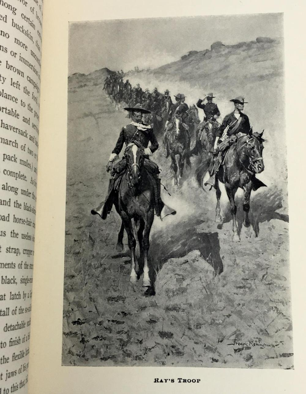 1903 A Daughter of The Sioux: A Tale of The Indian Frontier by Gen. Charles King Illustrated by Frederic Remington