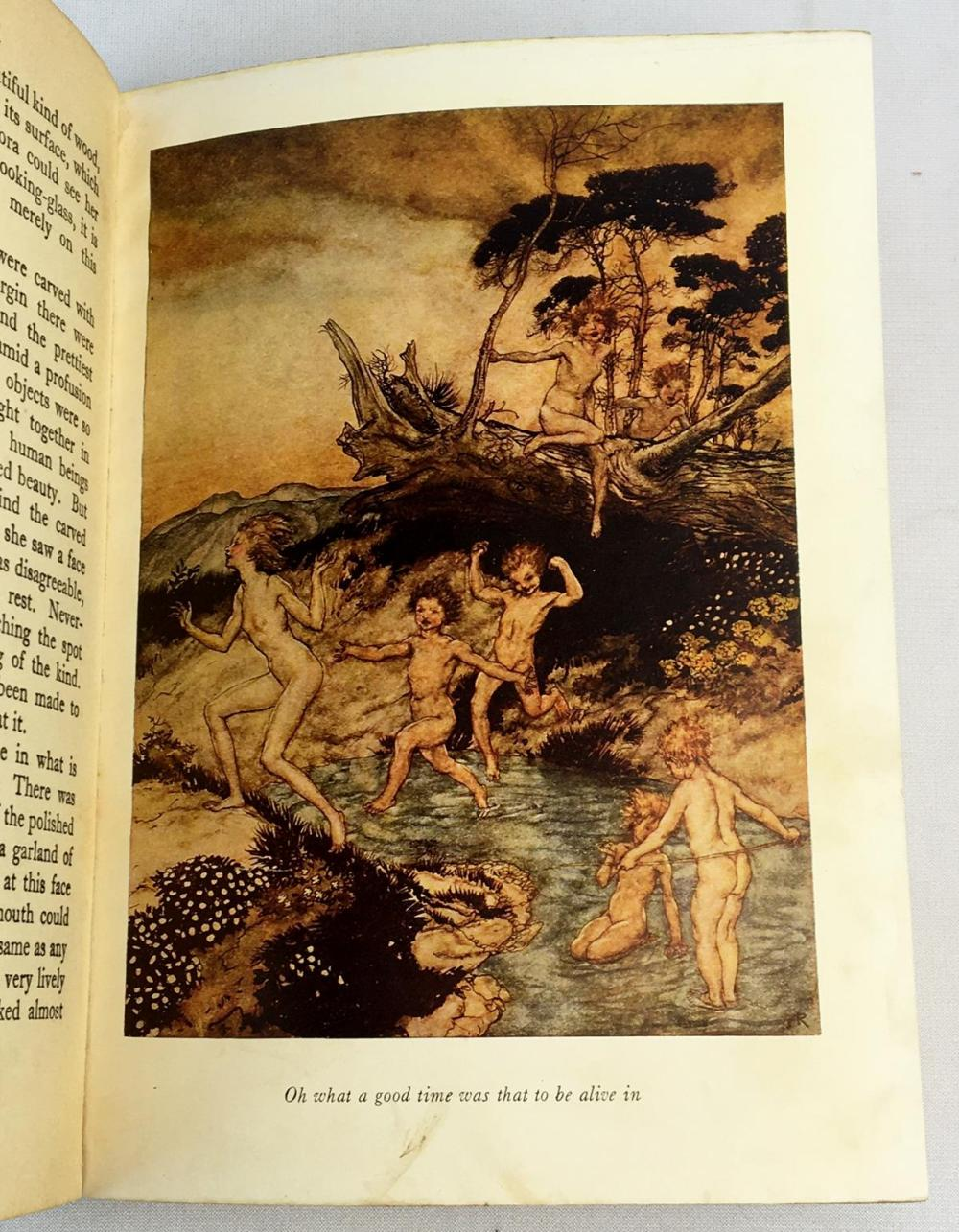 Hawthorne's Wonder Book by Nathaniel Hawthorne ILLUSTRATED by Arthur Rackham c. 1940