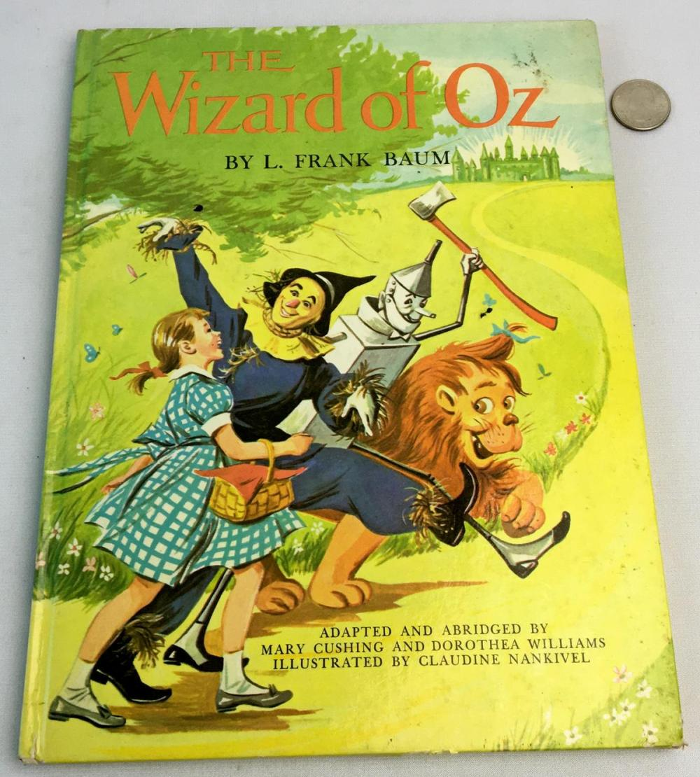 1962 The Wizard of Oz by L. Frank Baum ILLUSTRATED