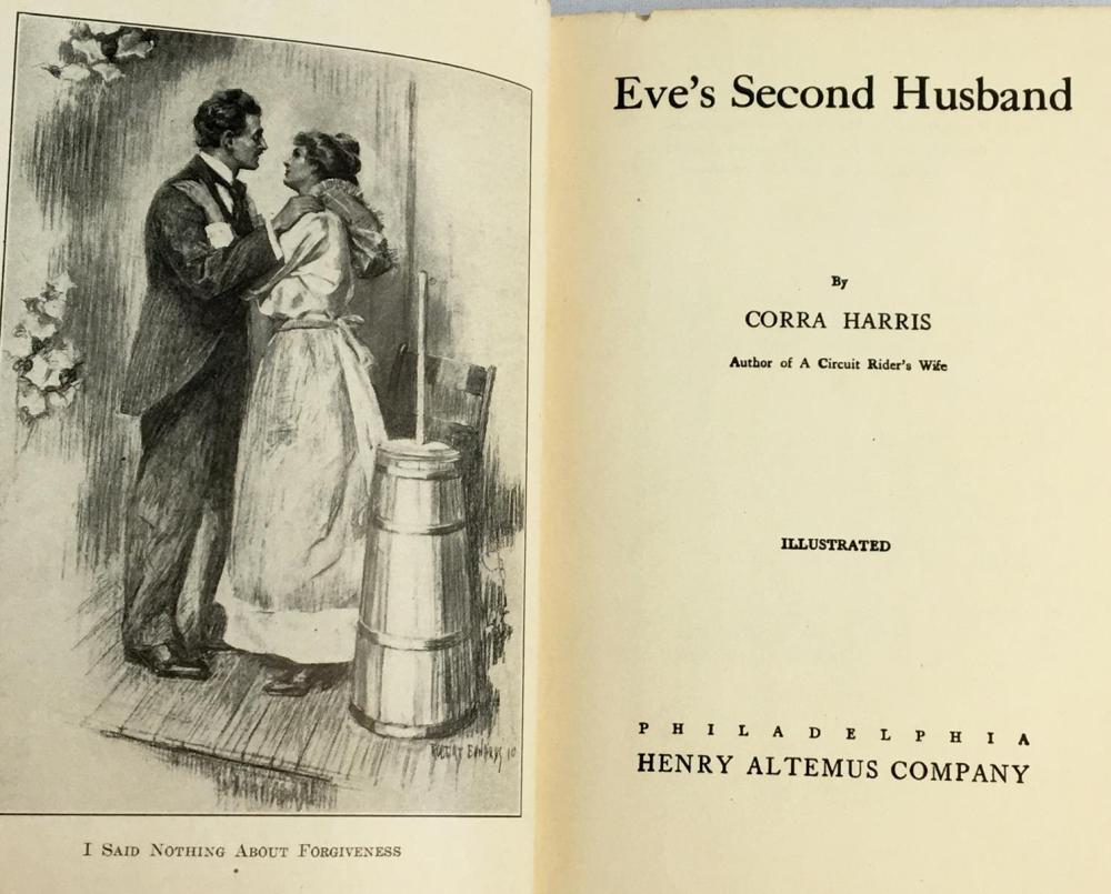 1911 Eve's Second Husband by Corra Mae Harris ILLUSTRATED