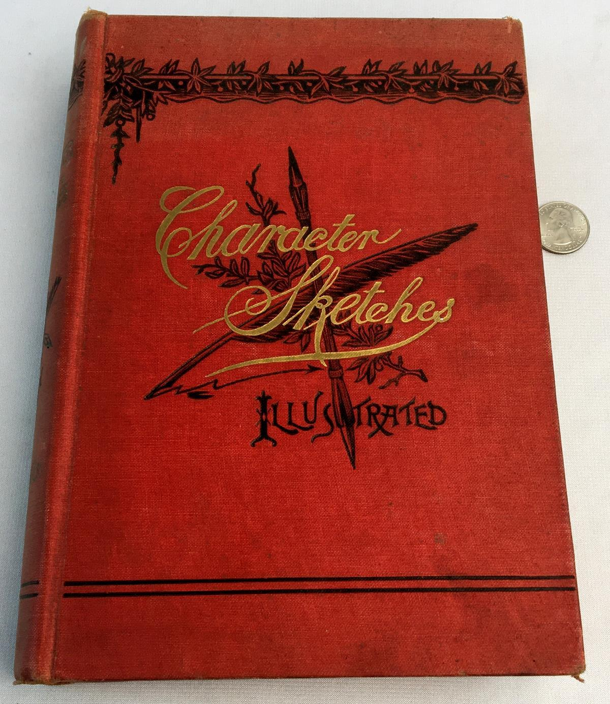 1898 Character Sketches by George A. Lofton, A.M., D.D. ILLUSTRATED