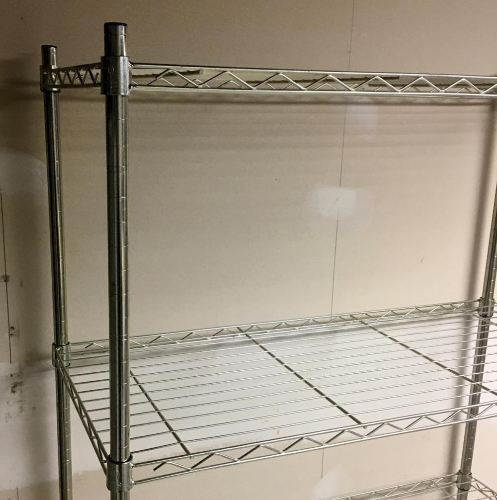 NSF Brand Adjustable Metal Shelving Rack