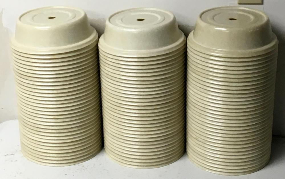 Lot of 97 Cambro Polycarbonate Versa Plate Covers