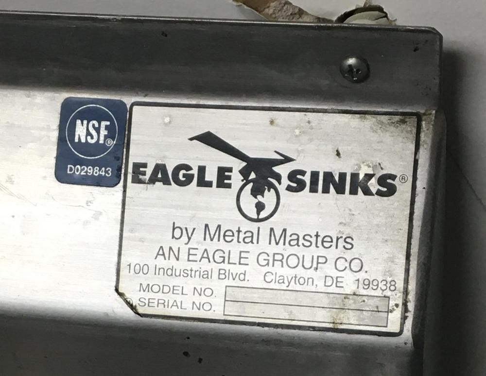 Metal Masters Eagle 2-Bay Stainless Steel Commercial Sink