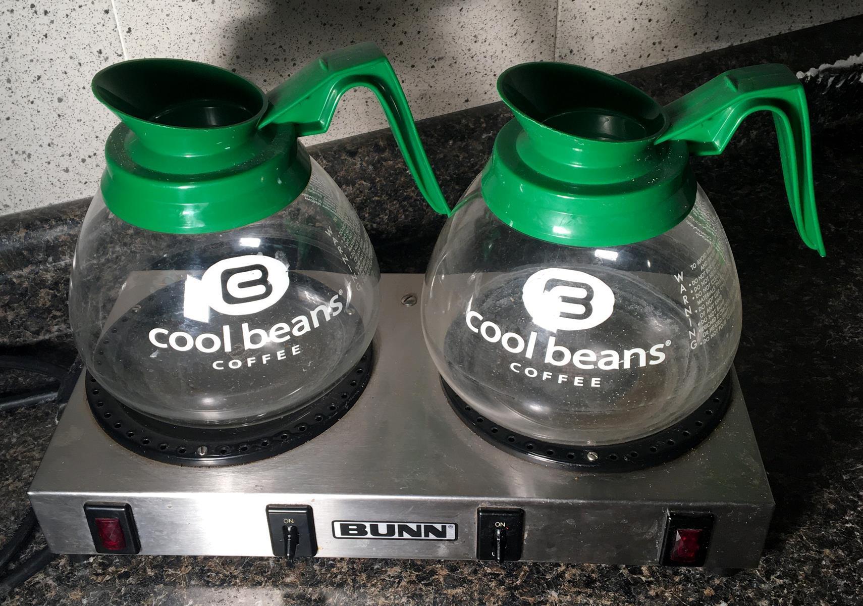 Bunn Model WX2 Warmer with 2 Coffee Pots