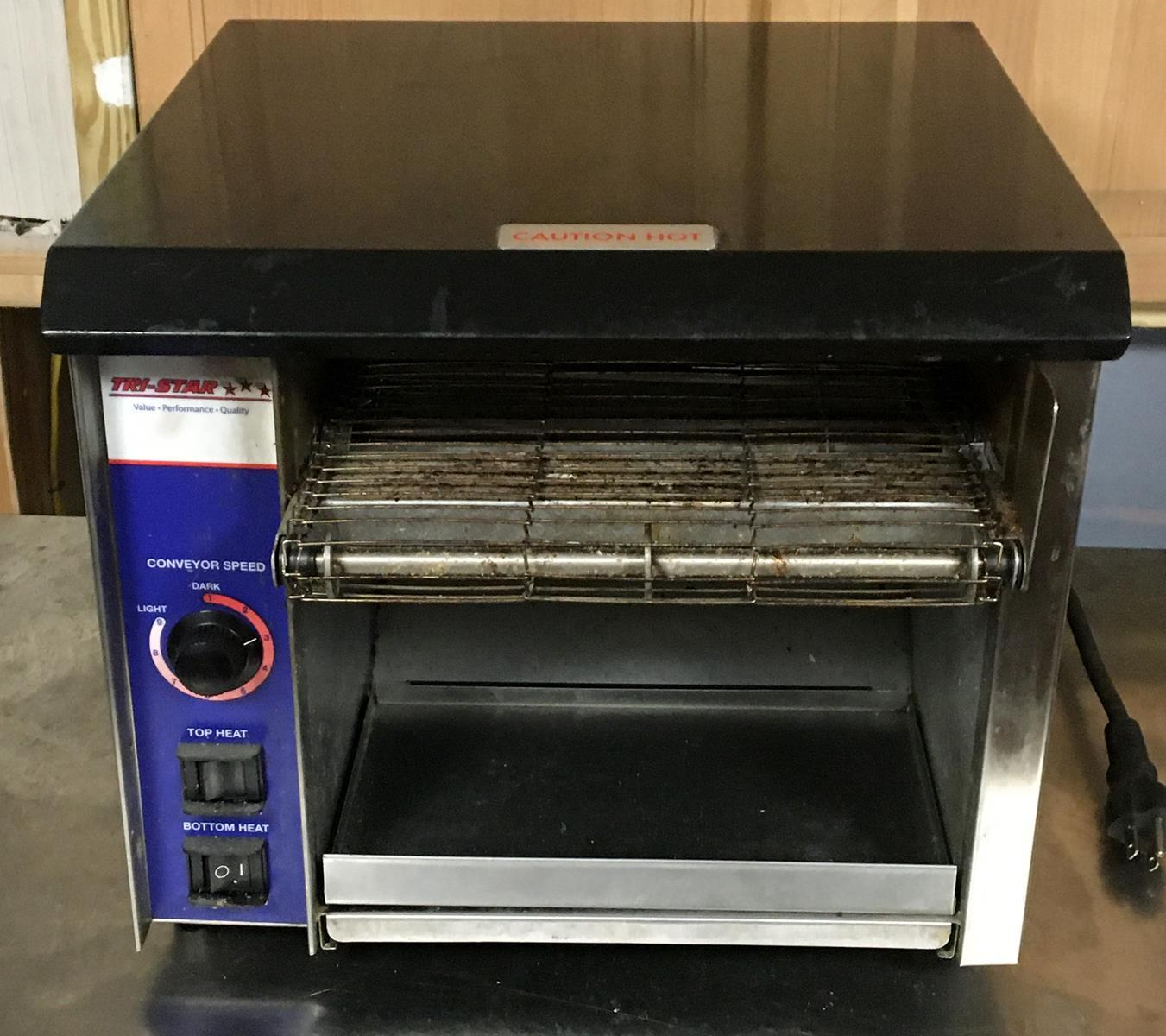AT Express Stainless Steel Radiant Conveyor Toaster