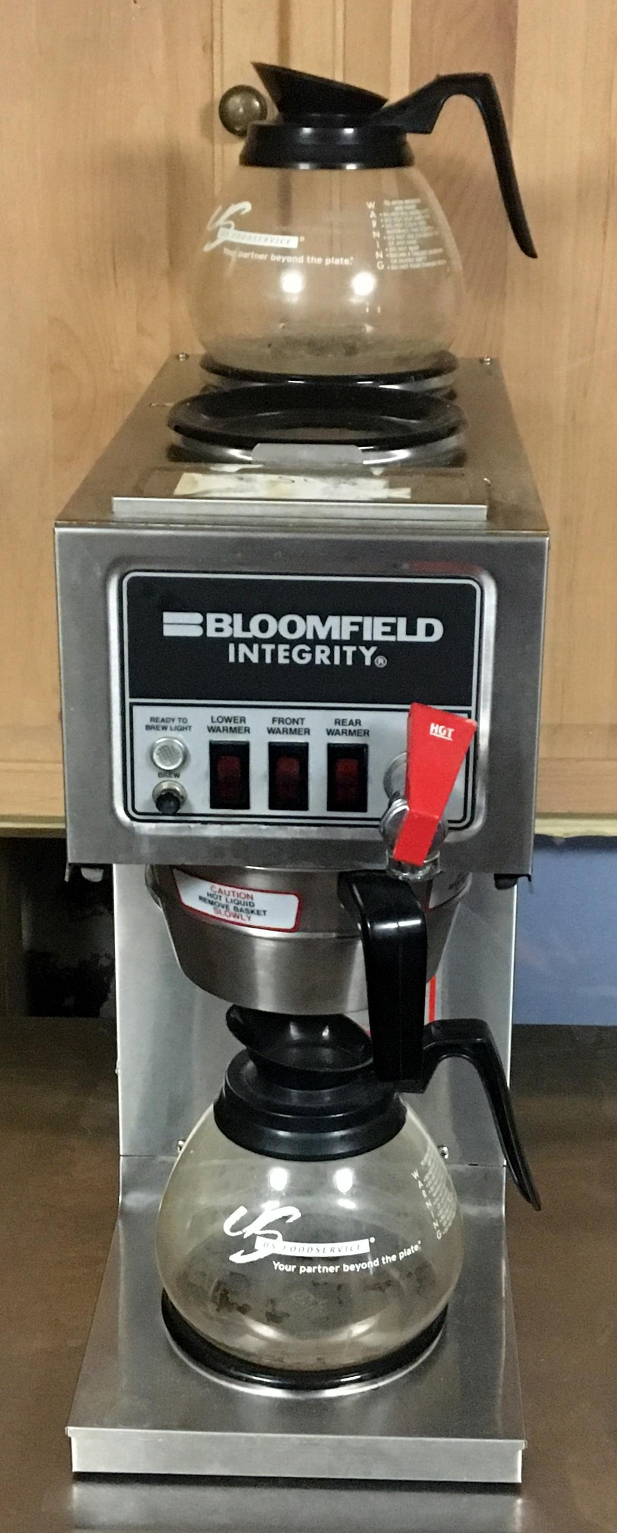 Bloomfield 9016 Integrity 3-Warmer In-Line Automatic Coffee Brewer