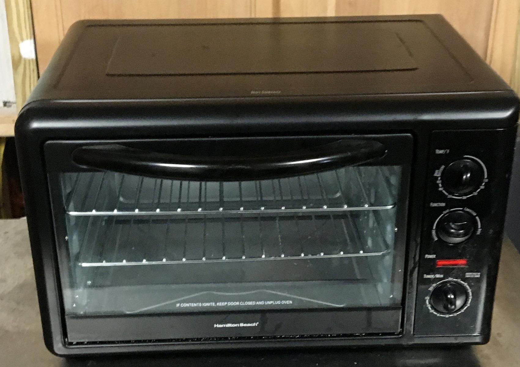 Hamilton Beach Model 31101 Countertop Toaster Oven