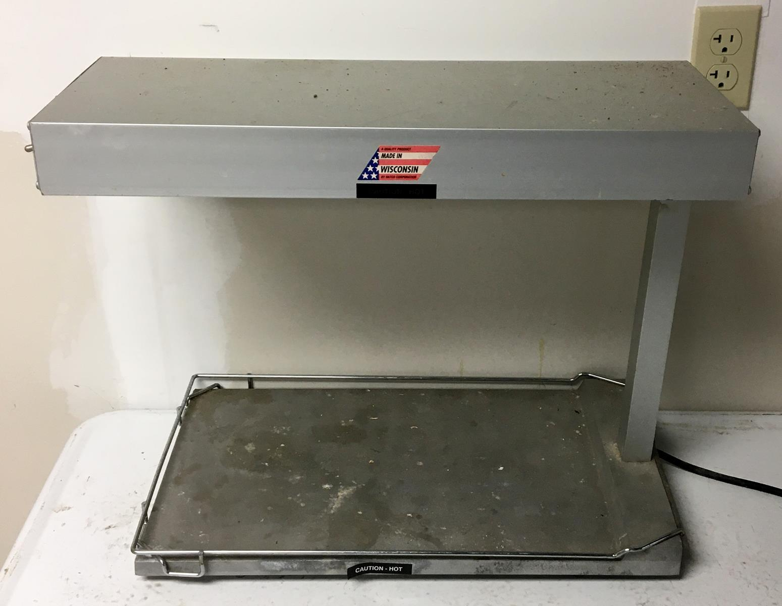 HATCO Glo-Ray Portable Food Warmer Heated Base with Light