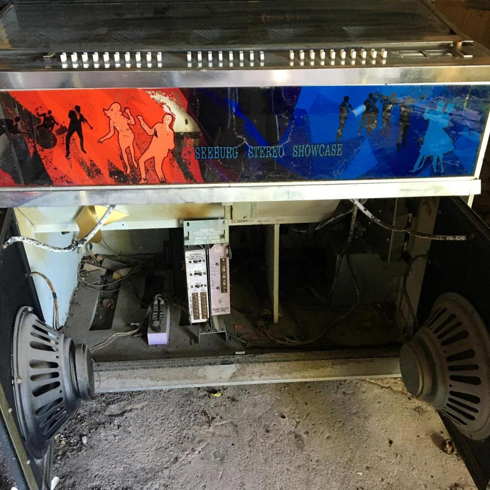 Vintage 1967 Seeburg SS160 Jukebox 1967 Stereo Showcase