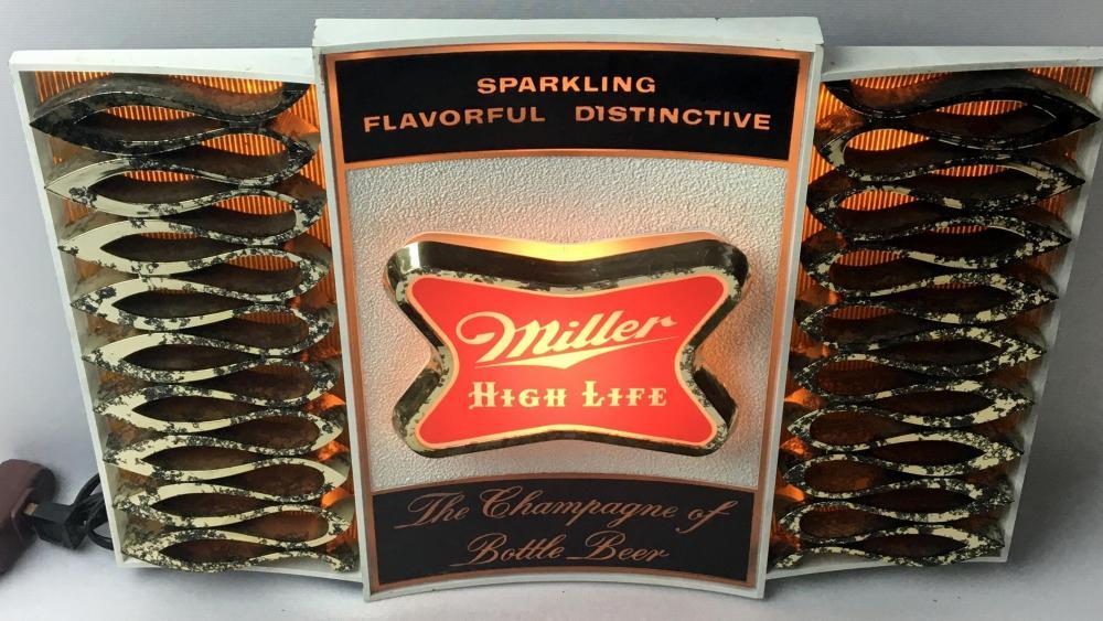 Vintage 1970's Miller High Life