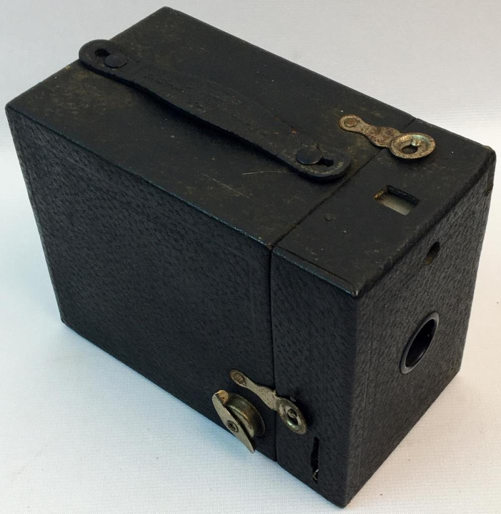 Vintage 1920's Kodak Hawkeye No. 2 Model C Box Camera