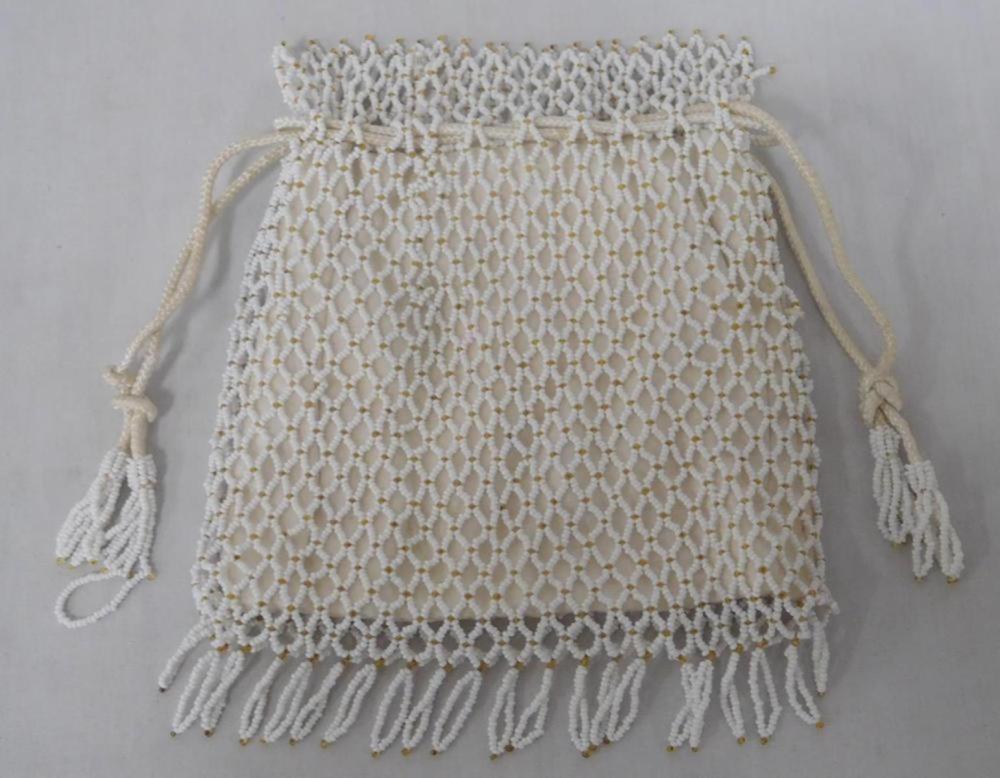 Vintage Lot of 2 Purses (Crochet & Beaded)
