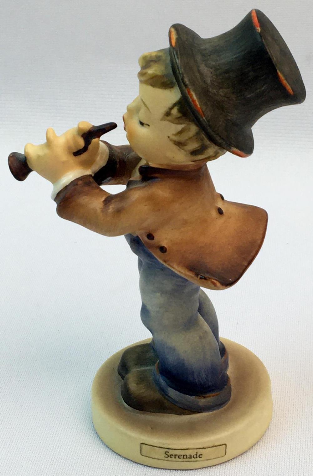 "Vintage 1960's Hummel Figurine ""Serenade"" #85 / 0 TMK3"