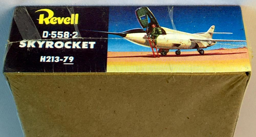 1994 USAF Douglas D-558-2 Skyrocket Fighter Jet Revell Model Kit SEALED