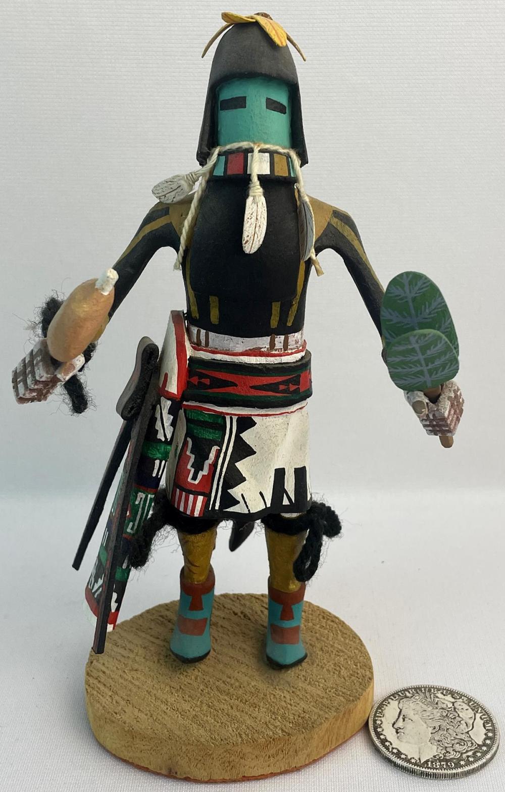 Vintage Native American Hopi Kachina Carved Wood Figurine