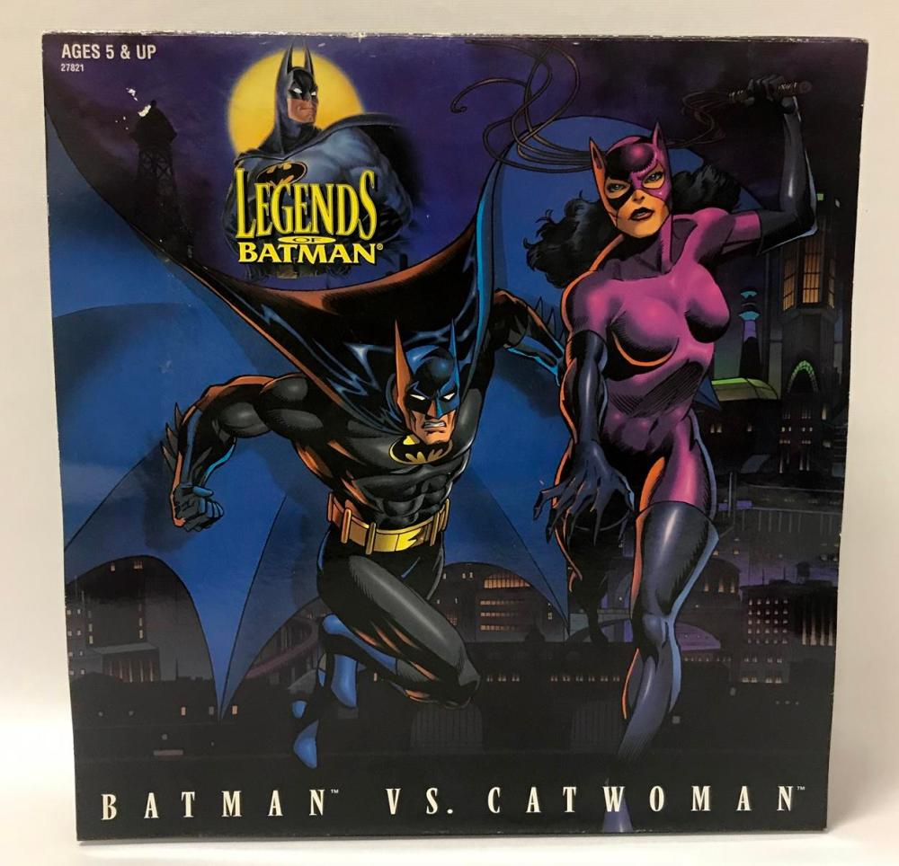 1996 Kenner Legends Of Batman: Batman vs. Cat woman Figures UNOPENED