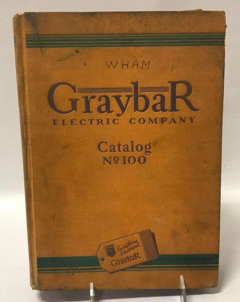 1929 GrayBar Electric Company Catalog No. 100