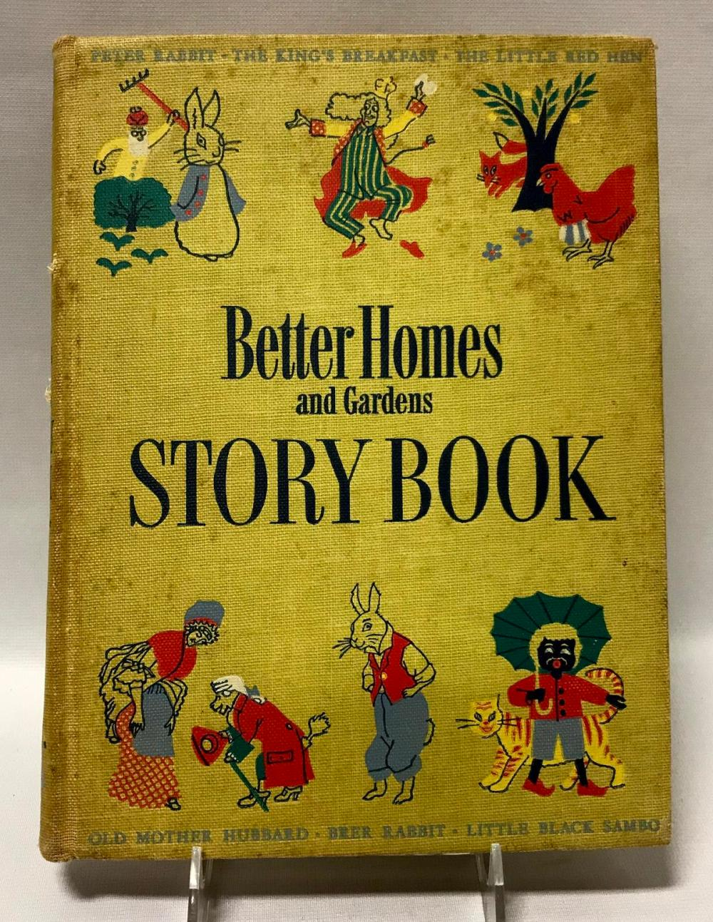 1950 Better Homes & Gardens Storybook (Little Black Sambo, Etc..)