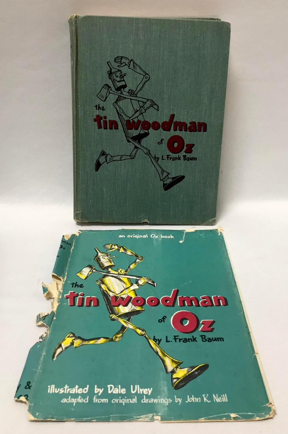 1918 The Tin Man of Oz by L. Frank Baum w/ Dust Jacket