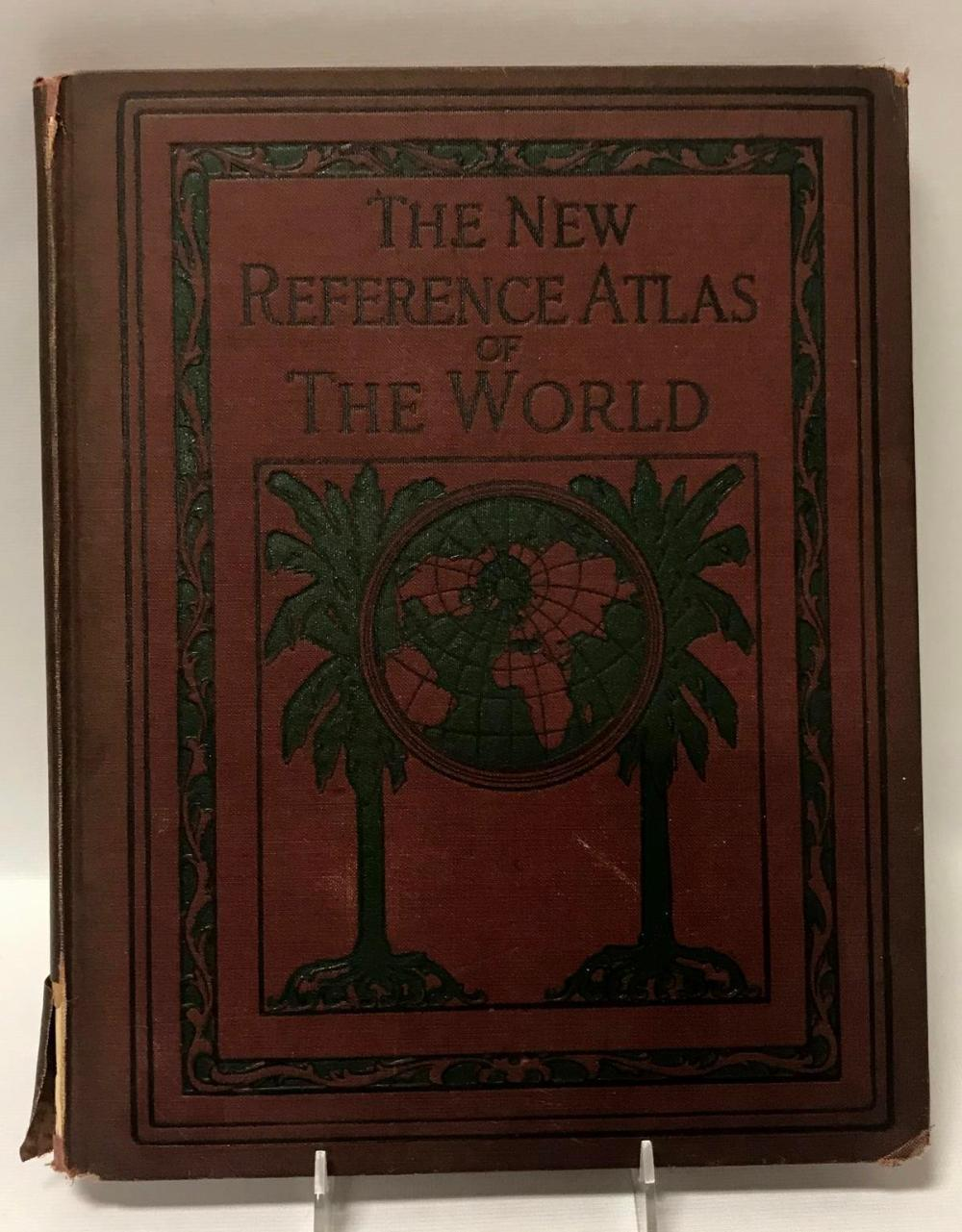 1922 The New Reference Atlas Of The New World