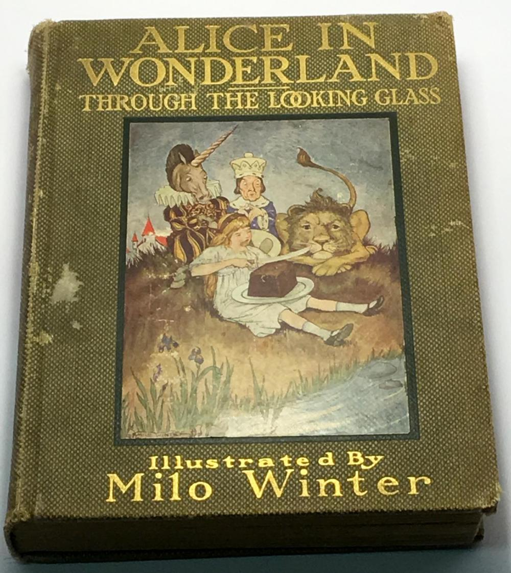 1916 Alice In Wonderland: Through the Looking-Glass by Lewis Carroll