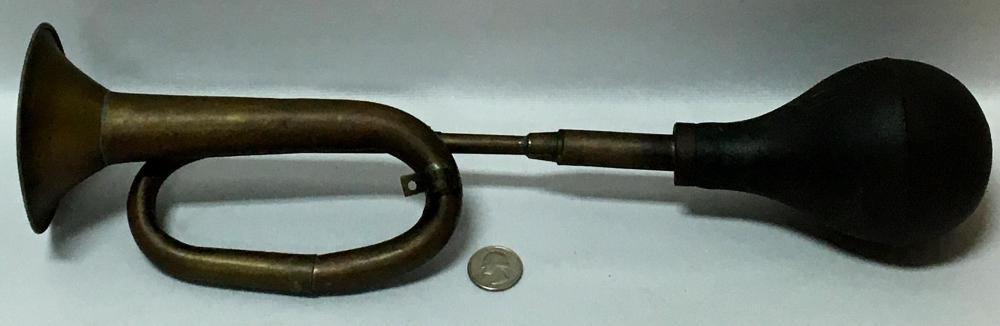 Antique Brass Taxi Trumpet Car Horn