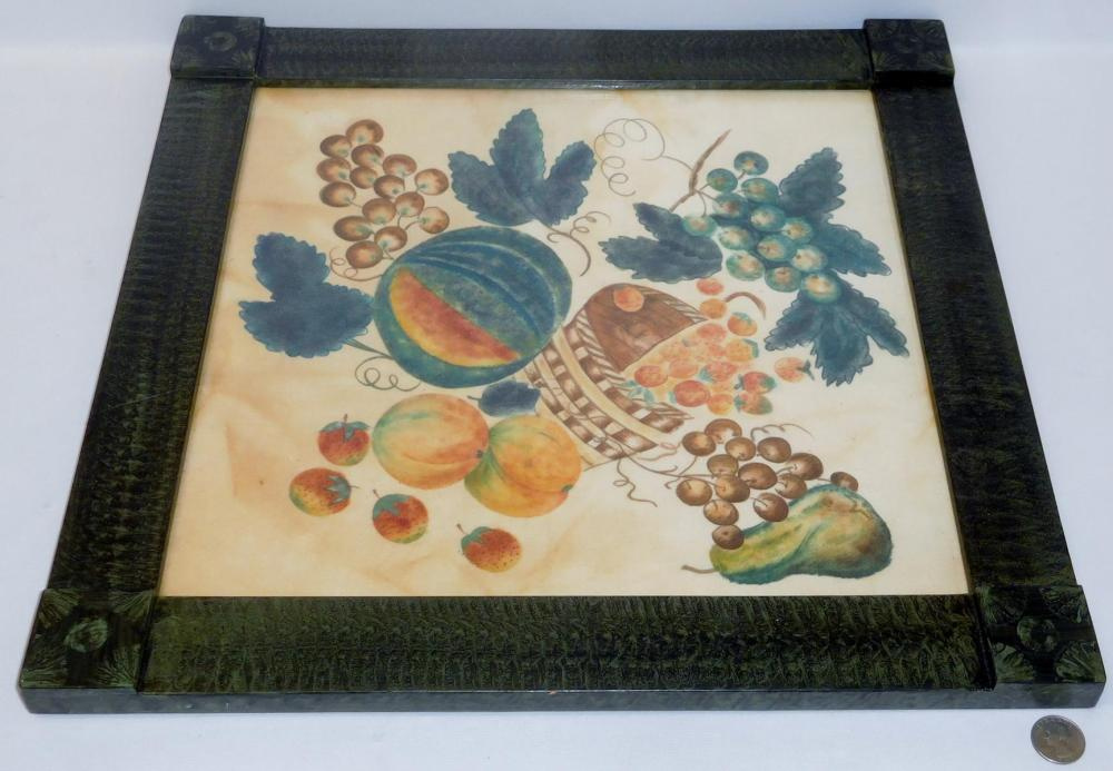 David Y. Ellinger (1913-2003) Oil on Velvet Theorem Still Life ORIGINAL FRAMED