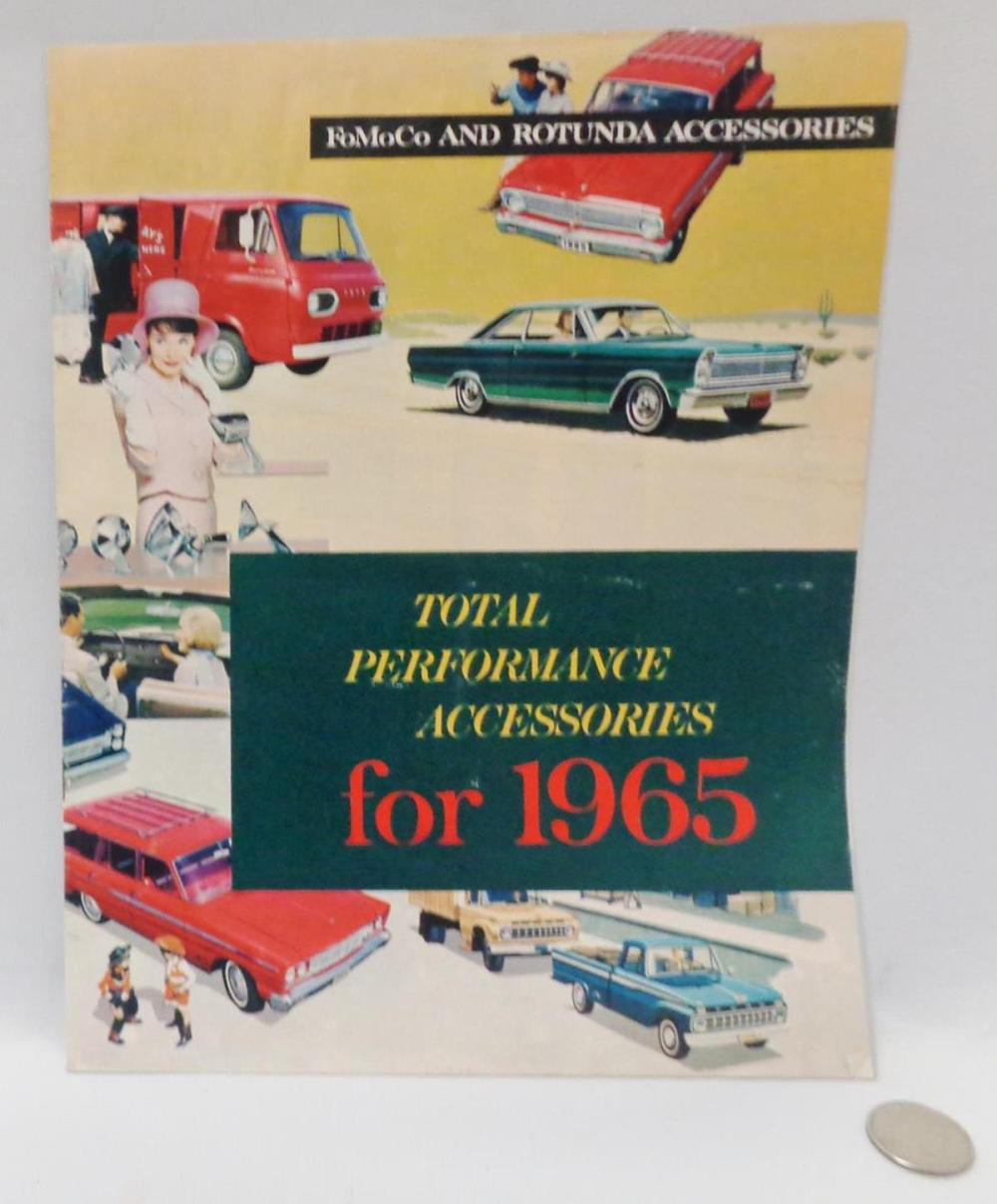 Vintage 1965 Ford FoMoCo And Rotunda Accessories Catalog