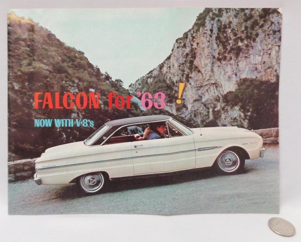 Vintage 1963 Ford Falcon Sales Brochure Catalog