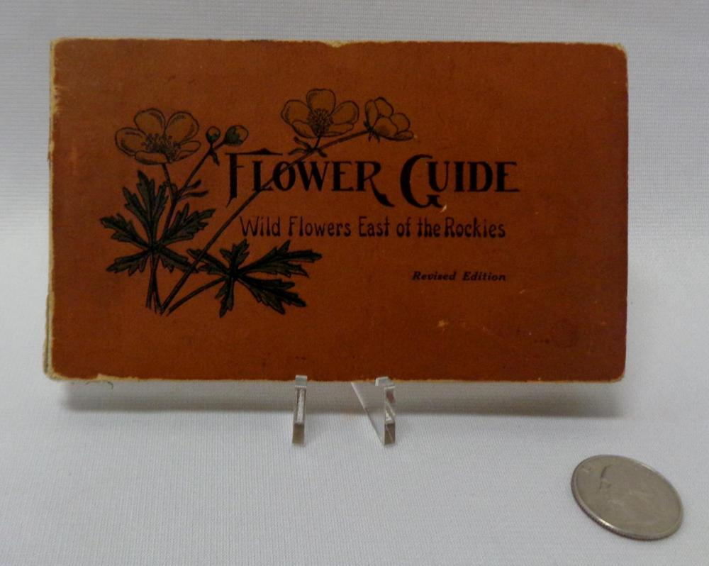 Antique 1920 Flower Guide 'Wild Flowers East Of the Rockies' By Chester A Reed