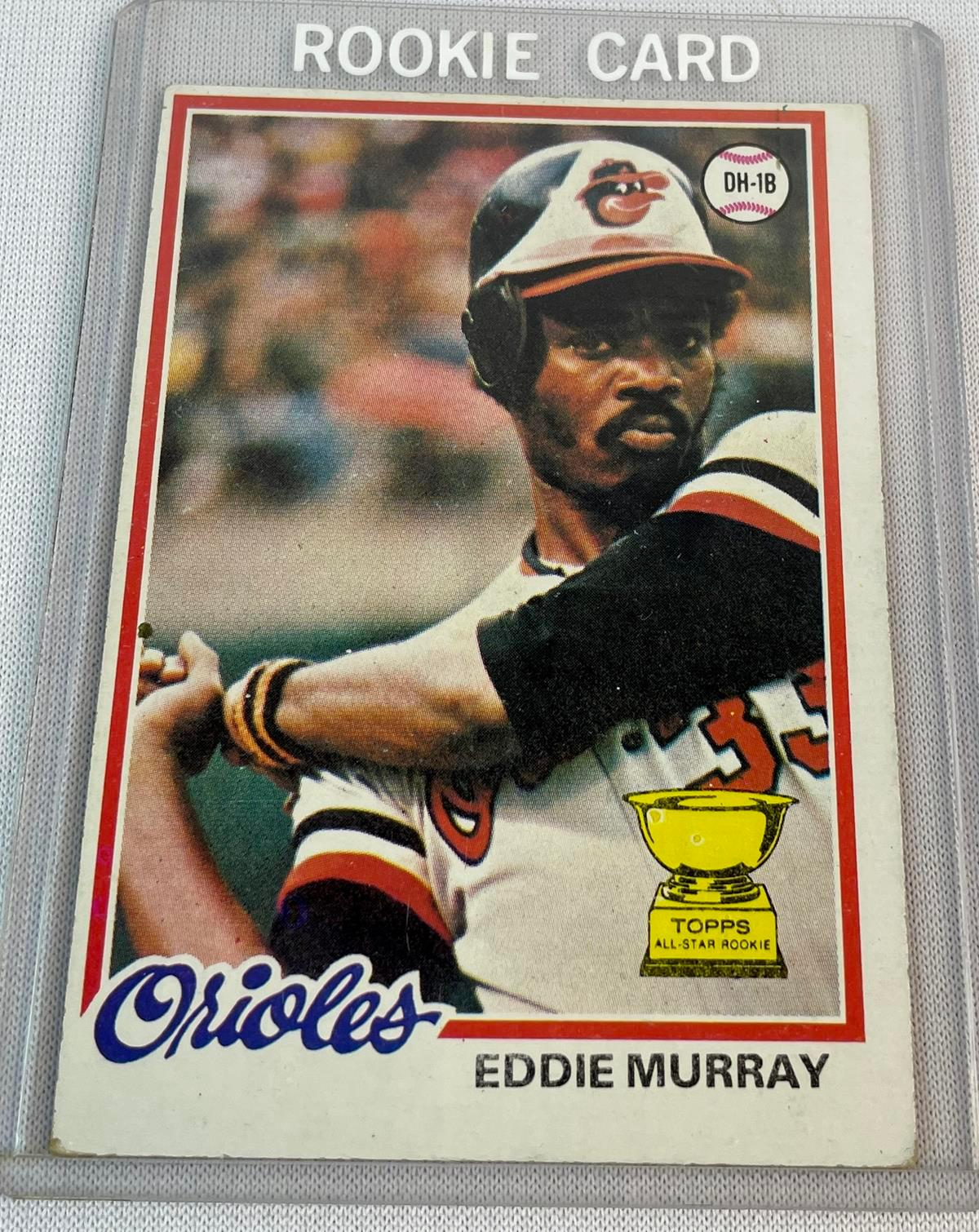 1978 Topps #36 Eddie Murray Baltimore Orioles Rookie Card