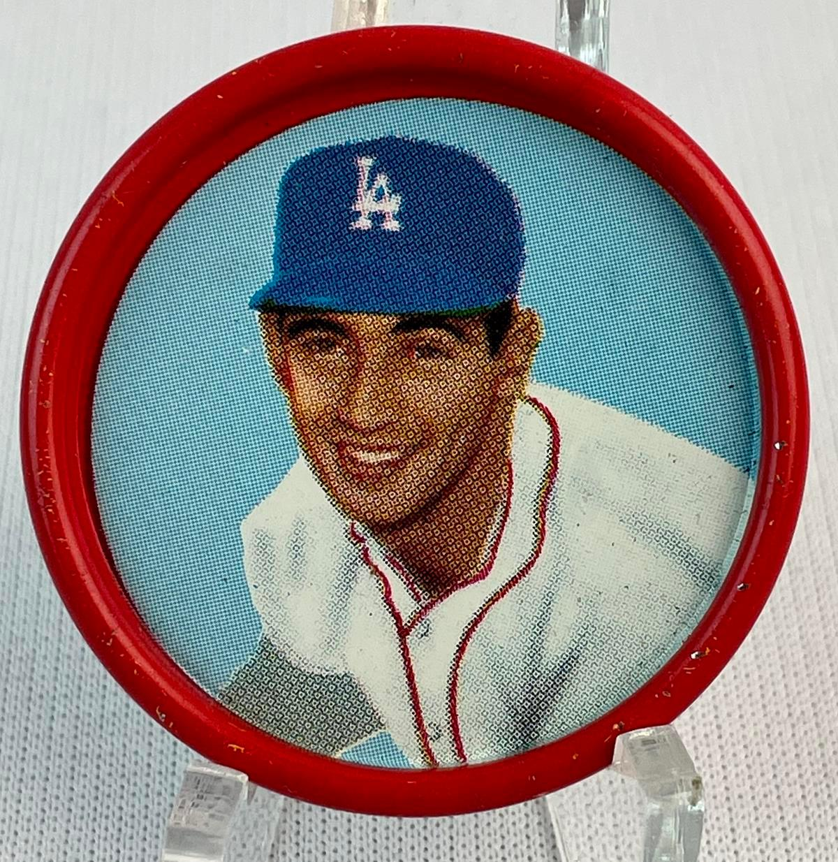 1963 Salada Tea and Junket #4 Sandy Koufax Los Angeles Dodgers Coin
