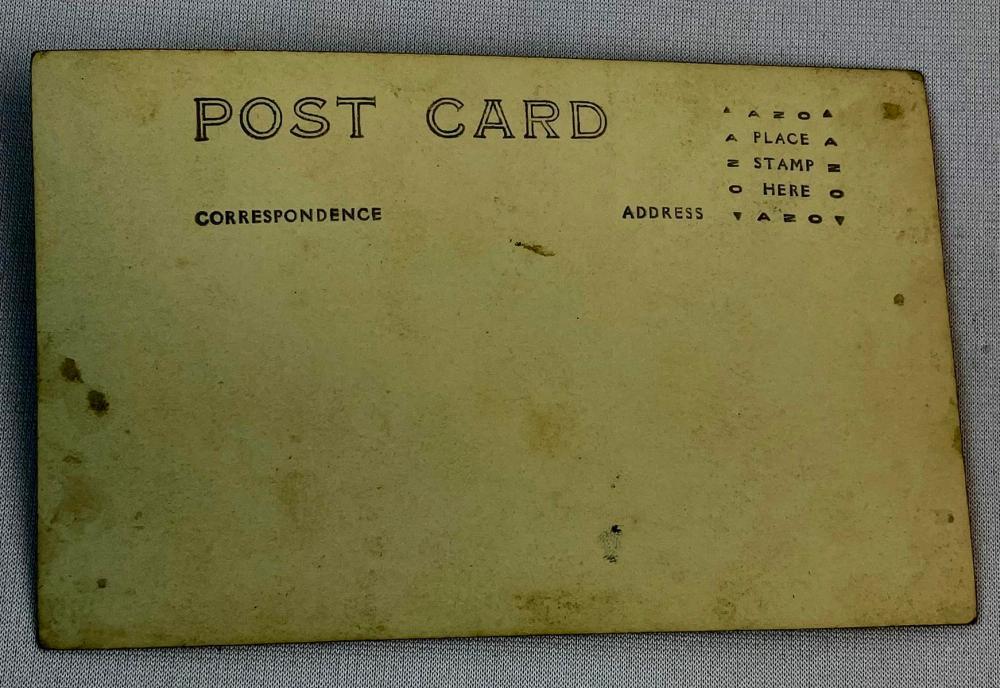 Antique 1923 I.C. Football Team Real Photo Postcard