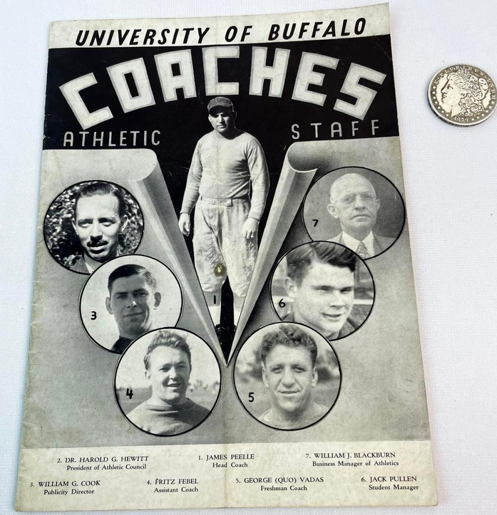 1937 University of Buffalo Official Football Program (Buffalo vs. Rochester)