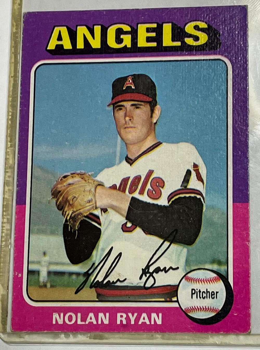 1975 Topps #500 Nolan Ryan California Angels Baseball Card