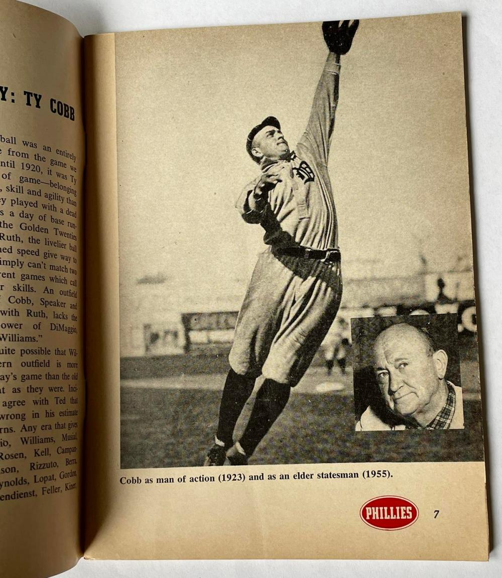 1954 Phillies Cigars Presents The Tumult and The Shouting by Grantland Rice (Ruth, Cobb, Dempsey, Etc.. Stories)