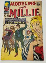 1967 Marvel Comics #53 Modeling with Millie Comic Book