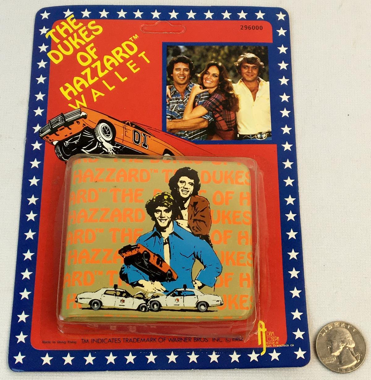Vintage 1982 The Dukes of Hazzard Wallet UNPUNCHED / CARDED