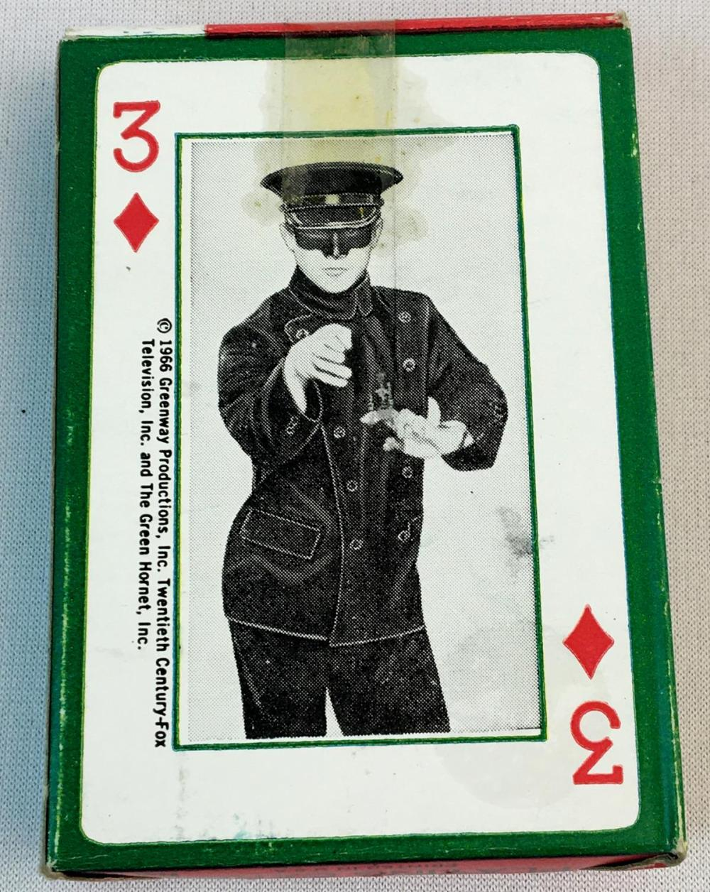 Vintage 1966 The Green Hornet Playing Cards UNOPENED