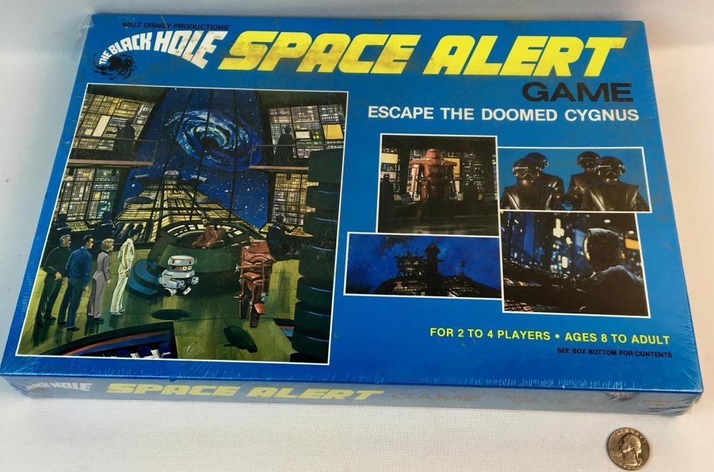 """Vintage 1979 Walt Disney's The Black Hole Space Alert Game"""" Escape The Doomed Cygnus SEALED"""